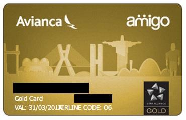 Avianca Brasil Amigo Gold