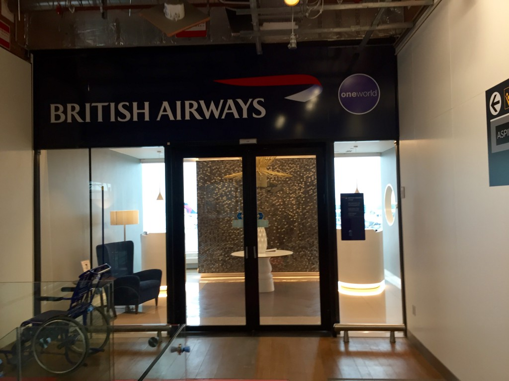 British Airways Lounge Amsterdam
