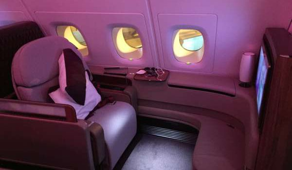 Die Qatar Airways First Class hat zwei Gesichter