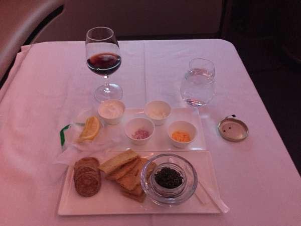 Caviar als Vorspeise