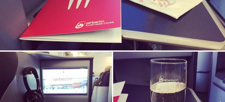 Flight-Review: Airberlin Business Class Düsseldorf nach San Francisco