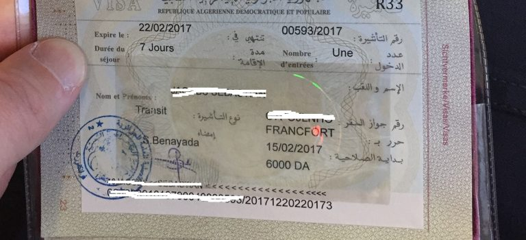 Transit in Algier