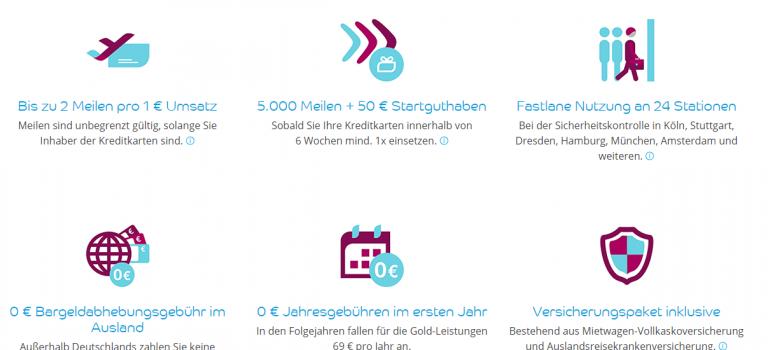 Noch eine unnötige Kreditkarte in meiner Geldbörse: Eurowings Kreditkarte mit 50€ Startguthaben + 15€ Cashback