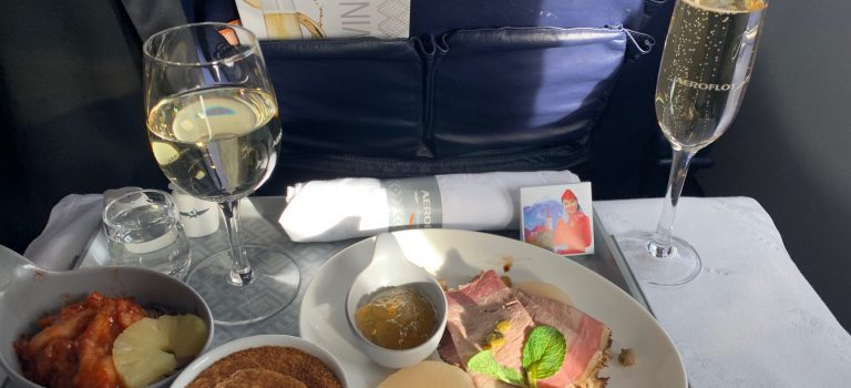 Flight-Review: Aeroflot Business Class von Warschau nach Moskau