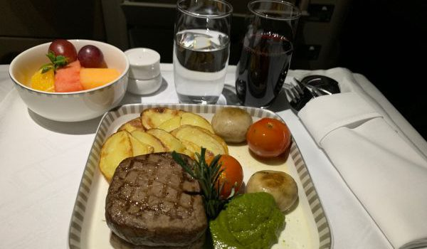 "Flight-Review: Singapore Airlines Business Class ""Mittelstrecke"""
